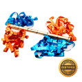 "18"" Airless Flutter FETTI® Launcher with Metallic Streamers (Custom Colors) - Hand Flick Launcher"