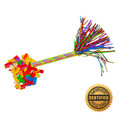 "9"" Happy Birthday Swisher Filled w/Flutter FETTI® Confetti - Hand Flick Launcher"