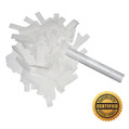 "6"" Wedding Flutter FETTI® Confetti w/White Tissue -  Hand Flick Launcher"