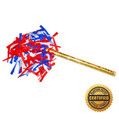"14"" Corkscrews® Confetti Sticks - Hand Flick Launcher (Custom Colors)"
