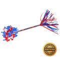 "14"" Patriotic Swisher Flutter FETTI® Confetti Red/White/Blue - Hand Flick Launcher"