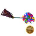 """14"""" Rainbow (Pride) Swisher Flutter FETTI® Confetti - Hand Flick Launcher"""