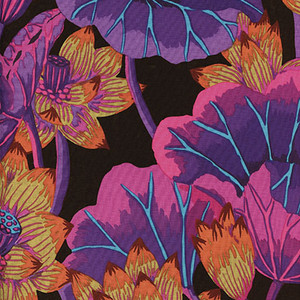Kaffe Fassett Lake Blossoms GP93.black