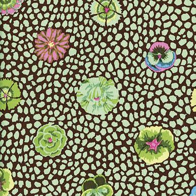 Kaffe Fassett Classic Guinea Flower Colour: Green