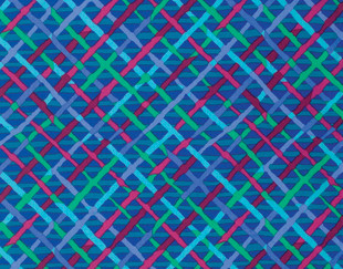 Mad Plaid Brandon Mably Colour: Cobalt