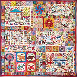 Pandemonium Applique Pattern Kim McLean