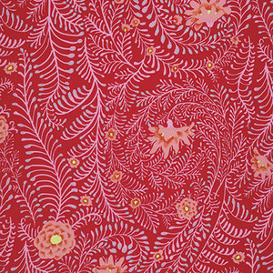 Fall 2014 - Ferns Kaffe Fassett Colour: Red