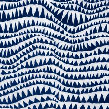 Sharks Teeth, PWBM60 Brandon Mably Spring 2017 Colour: Blue