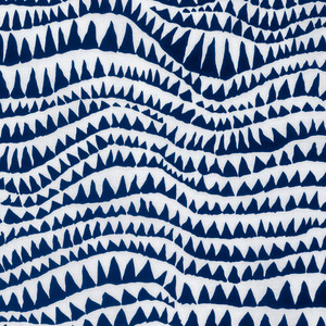 Sharks Teeth, PWBM60 Brandon Mably Spring 2017 Colour: Blue