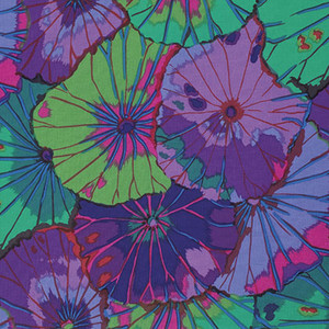 Lotus Leaf Kaffe Fassett Classic Colour: Purple