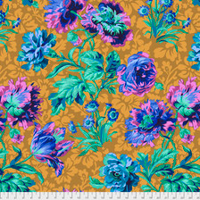 Baroque Flower Blue