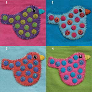 Sue Spargo Polka Dot Bird