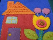 Sue Spargo House Pre Cut Block
