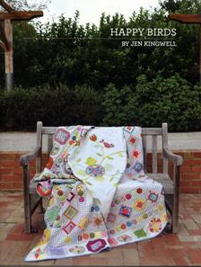 Happy Birds Booklet by Jen Kingwell