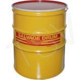 Lined 85 gal Salvage Drum