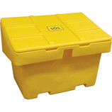 Salt & Sand Storage Available in Yellow or Grey