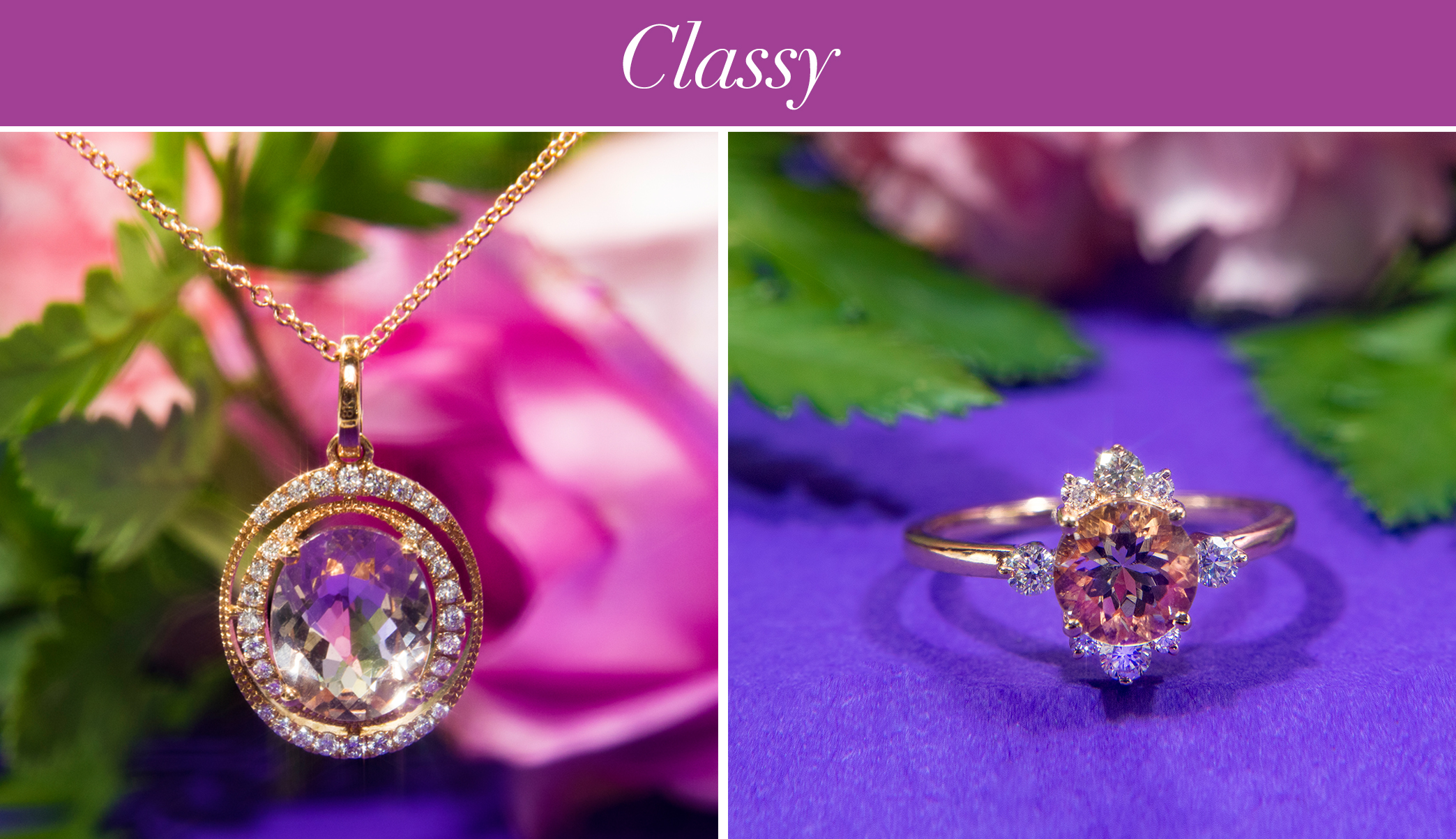 Dove's Morganite Jewelry