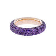 Sofragem Designer Ring in Violet