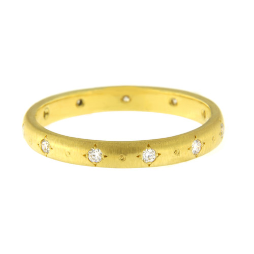 Chefridi Stepping Stone Diamond Wedding Band