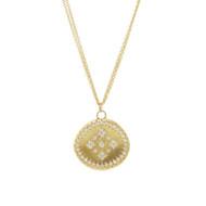 Chefridi Gold Diamond Pendant