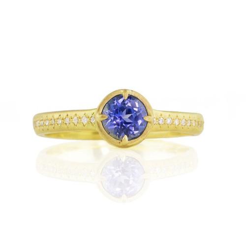 Chefridi Blue Sapphire Ring