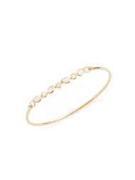 Moonstone Bangle Bracelet