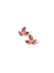 Anzie Mini Bouquet Studs Pink
