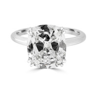 Solitaire Cushion Brilliant Engagement Ring
