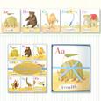 EEBOO - WALL CARDS - ANIMALS ON PARADE