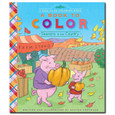 EEBOO - A BOOK TO COLOR - SEASONS IN THE COUNTRY