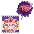 EEBOO - CREPE PAPER FLOWERS - VIOLETTE