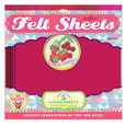 EEBOO - FELT SHEETS - BERRY