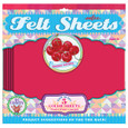 EEBOO - FELT SHEETS - CHERRY