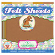 EEBOO - FELT SHEETS - CHIPMUNK