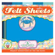 EEBOO - FELT SHEETS - BLUE CRAB