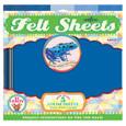 EEBOO - FELT SHEETS - DART FROG