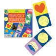 EEBOO - TRAVEL GAME - COLOR DOMINOES