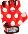 KIDDIMOTO GLOVES - RED DOTTY