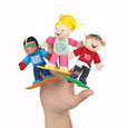 FINGER PUPPETS - EXTREME SPORTS