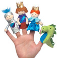 FINGER PUPPETS - A DAY AT THE CASTLE