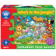PUZZLE - WHO'S IN THE JUNGLE?