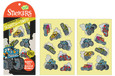SCRATCH-AND-SNIFF STICKERS - RUBBER TYRE