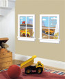 APPLIQUES - GIANT WINDOW PANES - CONSTRUCTION JUNCTION