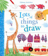 USBORNE - LOTS OF THINGS TO DRAW