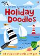 USBORNE - DOODLE CARDS - HOLIDAY