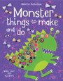 USBORNE - THINGS TO MAKE AND DO - MONSTER