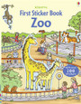 USBORNE - STICKER BOOK - ZOO