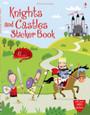 USBORNE - STICKER BOOK - KNIGHTS AND CASTLES