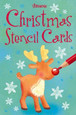 USBORNE - STENCIL CARDS - CHRISTMAS