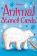 USBORNE - STENCIL CARDS - ANIMAL